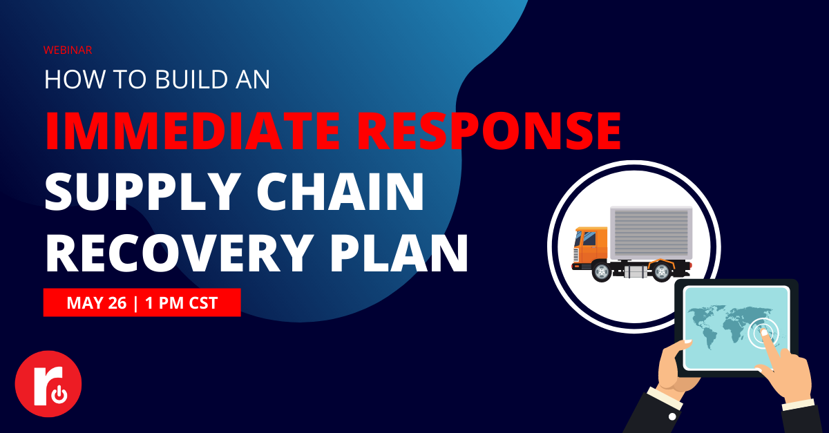 Supply Chain Recovery Plan Webinar